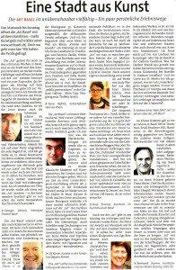 Artikel in der Zeitung