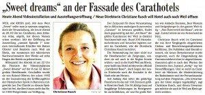 Artikel in der Badischen Zeitung vom 14. Juni 2011