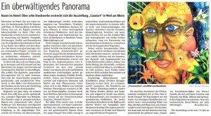 Artikel in der Badischen Zeitung (Kulturteil) vom 16. Juni 2011