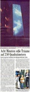 Artikel in der Badischen Zeitung (Regionalteil) vom 16. Juni 2011