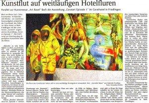 Artikel in der Weiler Zeitung (Kulturteil) vom 16. Juni 2011