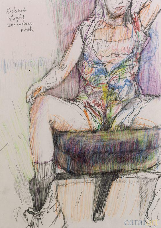 Zeichnung von Guido Michl