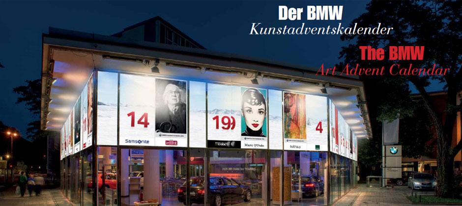 BMW Kunstadventskalender