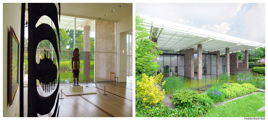 The Beyeler Foundation – an important cultural centre in Switzerland