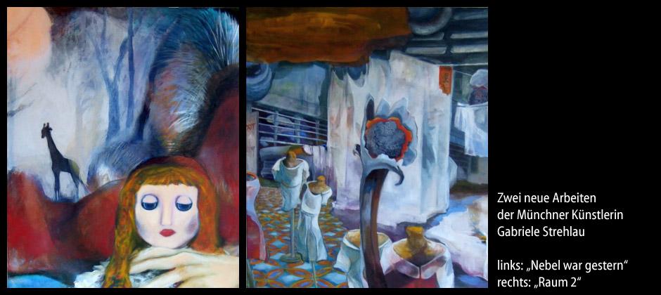 Künstlerin Gabriele Strehlau: neue Arbeiten 2011 / 2012