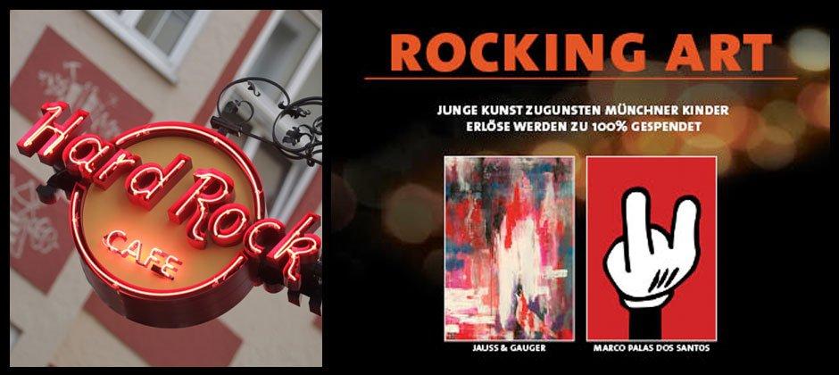 Kunst für einen guten Zweck: Charity Auktion im Hard Rock Cafè München