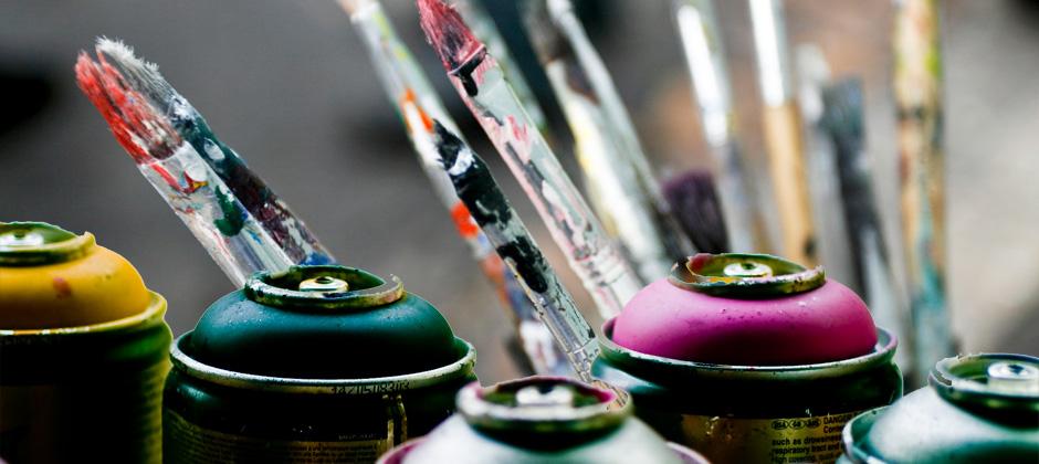 Moderne zeitgenössische Kunst: Malerei und Streetart