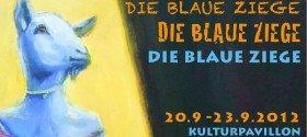 """Ausstellung """"Die blaue Ziege"""" in München"""