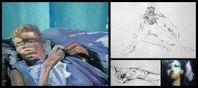 Zeichnungen und Malereien in Öl und Acryl von Werner Dyballa